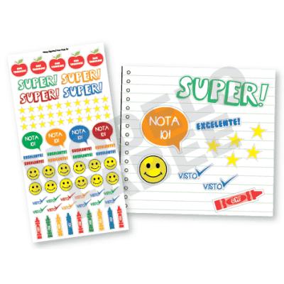 Etiquetas para professores personalizadas