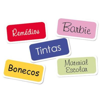 Etiquetas de Vinil Organizadoras