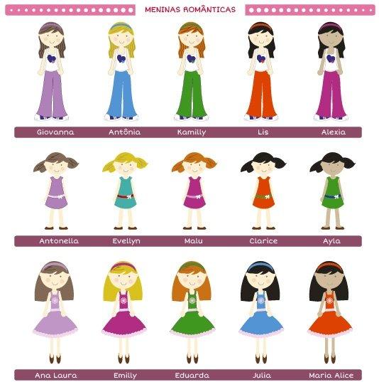 Guia Personalização Meninas Romanticas Fabee 1
