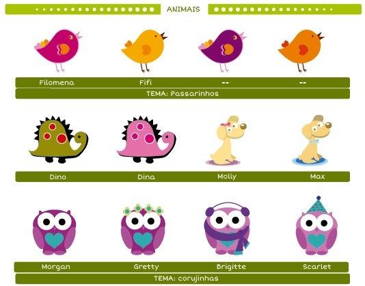 Guia Personalização Animais Fabee 1