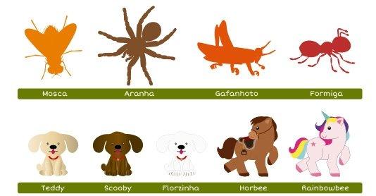 Guia Personalização Animais Fabee 4
